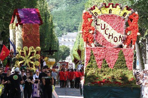 Défilé fête des fleurs Luchon